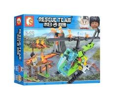 конструктор 603017/20 rescue team