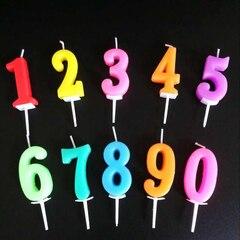 Свечи цифра 0