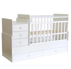 Кровать Фея 1100 Бук (белый)