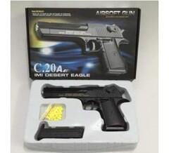 Оружие детск. C20A Пистолет металл.