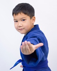 Кимоно дзюдо сини р.150