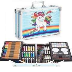 Набор для художника 120 предмет чемодан