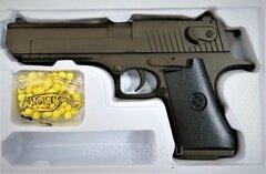 Игрушечный пистолет Air Soft Gun K111D металлический