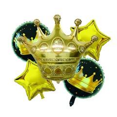 Набор шариков из 5шт корона