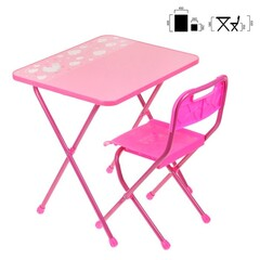 Стол+стул мягк КА2/Г Алина роз