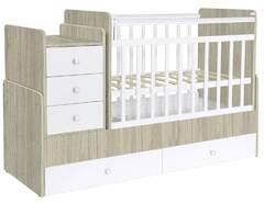 Кровать дет Фея 1100 вяз-белый 1033.41