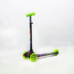 Скутер 3-х колесный 21st маленький с рисунком