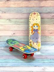 Скейт 4х кол. дерев.мал