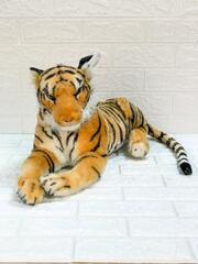 Мягк Тигр лежащий 60см