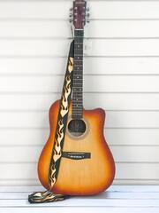 Гитара Aisheng желт 41 АК+В